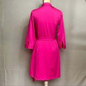 JB by Julie Brown Dresses - JB by Julie Brown NYC Pink Quarter Sleeve Wrap